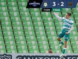 Enrique Palos hace un osote en la derrota de Bravos ante Santos