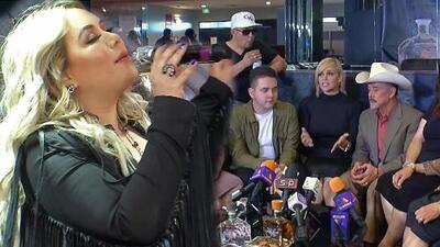 Chiquis no estará en la gira que realizará la familia Rivera y así justifica su ausencia