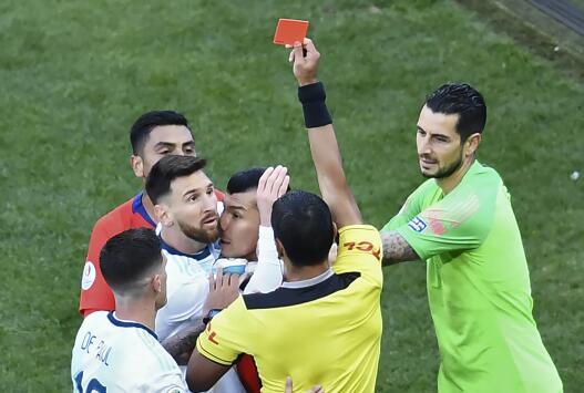 Conmebol anunció castigo para Lionel Messi