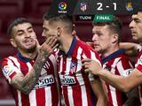 Atlético de Madrid sí hace la tarea y se afianza en el liderato de LaLiga