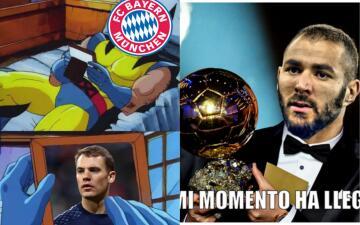 Memes del partido Real Madrid contra Bayern Munich en la semifinal de Champions