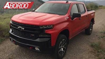 Primer Vistazo: 2019 Chevrolet Silverado LT Trail Boss | A Bordo