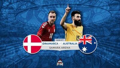 Dinamarca quiere un boleto a la segunda ronda a expensas de una Australia en mala racha