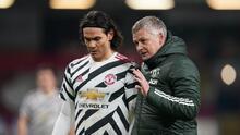 Solskjaer quiere que Cavani renueve con el Manchester United