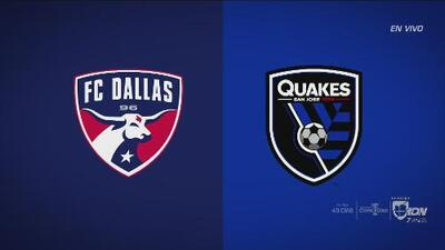 FC Dallas vs. SJ Earthquakes: un duelo de contrastes en la MLS