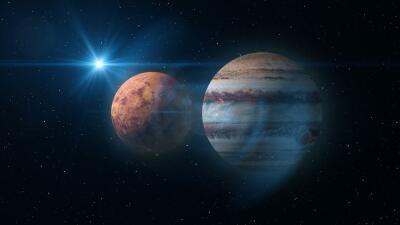 Venus y Júpiter en conjunción trae amor y oportunidades únicas para todos