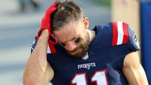 Patriots cortan a Julian Edelman por no aprobar pruebas físicas