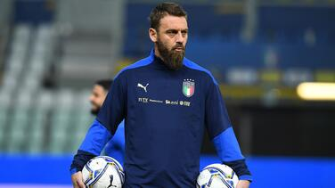 Daniele De Rossi es hospitalizado por COVID-19