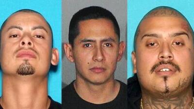 El violento historial de los tres líderes de la Mara Salvatrucha en Los Ángeles que siguen prófugos