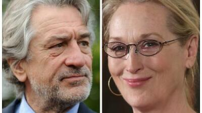 Robert De Niro apoya las palabras que Meryl Streep pronunció contra Donald Trump