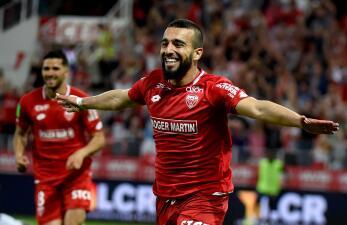 En fotos: Dijon sobrevive al reto ante el Lens y se queda en la Ligue 1