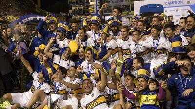 Boca Juniors 1-0 Tigre: Boca Juniors se consagra campeón del fútbol argentino