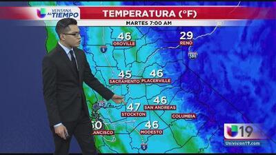 Continúa el frío al norte de California