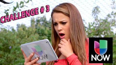 Challenge #3 Univision Now | Ligia Uriarte | NBL VIP