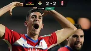 Granada rescata empate Vs. Betis, con Guardado como titular