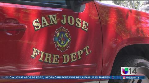 Voraz incendio en complejo de apartamentos en San José
