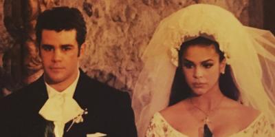 Las fotos nunca antes vistas de la boda de Bibi Gaytán y Eduardo Capetillo