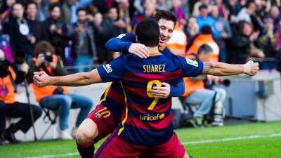 Barcelona 2-1 Atlético de Madrid: Messi y Suárez acaban con un Atlético que acabó con 9