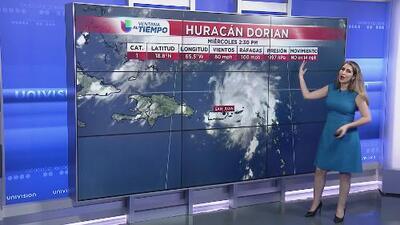 Huracán Dorian podría llegar a Carolina del Sur la próxima semana