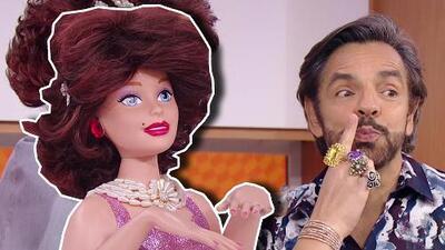 Sorprendimos a Eugenio Derbez con una muñeca y una propuesta tan 'tenta-Dora' que lo dejó callado
