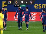 Atlético de Madrid soporta la presión y triunfa ante Villarreal