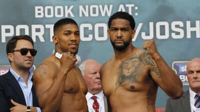 Anthony Joshua y Dominic Breazeale en peso y listos para la pelea por el título pesado FIB