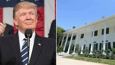 Conoce la mansión de Donald Trump en Beverly Hills (valuada en casi 30 millones de dólares)