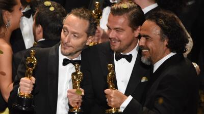 Iñárritu y Lubezki hacen historia en los Óscar