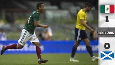 """""""¡Fuera Osorio!"""": El Azteca despide al Tri tras un partido bipolar ante Escocia"""