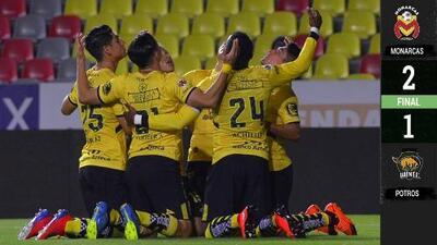 Morelia derrotó 2-1 a Potros y se clasificó a Octavos de Copa MX