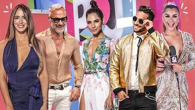 Bling bling, vestidos de flecos y minifaldas: así fue la alfombra de Premios Juventud