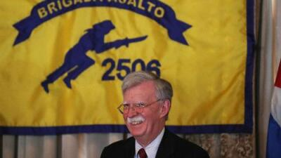 Bolton praises Bay of Pigs and reinforces US sanctions against Cuba