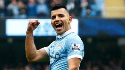 'Kun' Agüero hace 5 goles y Manchester City remonta y golea a Newcastle