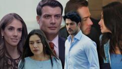 Estas fueron las parejas de las telenovelas y series que derrocharon amor este año