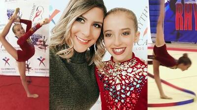 Conoce a Isabella Acosta, la pequeña gimnasta que lleva a Venezuela en el corazón y en cada competencia