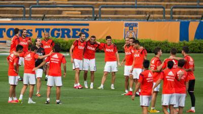 River Plate llegó a Monterrey con confianza