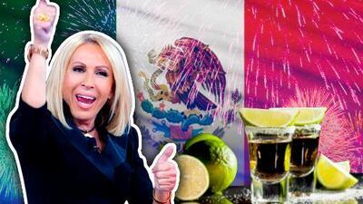 Laura Bozzo se 'rompió la cabeza' celebrando la independencia de México (y así esconde la cicatriz)