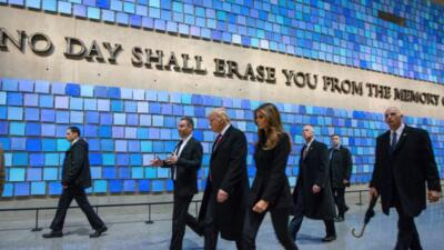 Donald Trump regala $10 mil al memorial del 11-S