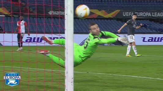 ¡Auténticos lujos! Top 10 de golazos de la Europa League en la J3