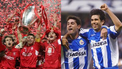 Grandes remontadas en la historia de la Champions
