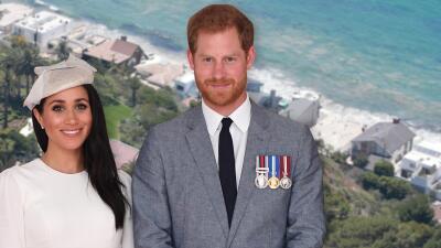 Aseguran que Meghan Markle y el príncipe Harry tienen los ojos puestos en California
