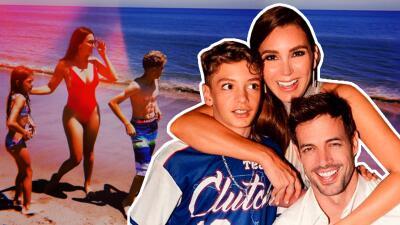 Elizabeth Gutiérrez responde a los que criticaron el abdomen musculoso de su hijo
