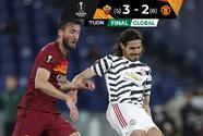 Con doblete de Cavani, Manchester United perdió pero está en la Final