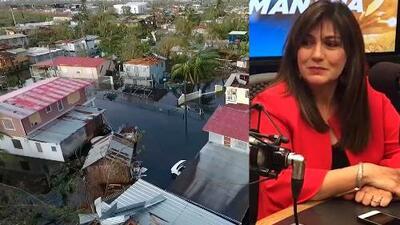 Ada Monzón revive los momentos que vivió hace un año durante el paso del huracán María