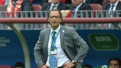 Juan Antonio Pizzi dejó de dirigir la selección de Arabia Saudita