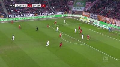 ¡GOOOL! Leon Goretzka anota para FC Bayern München