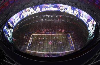 Así fueron los festejos de los New England Patriots tras ganar el Super Bowl LIII
