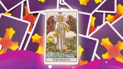 La Templanza del tarot te ayudará mucho en tu vida