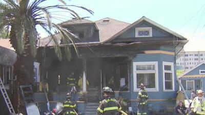 Tres familias de San José se quedaron sin hogar debido a un grave incendio