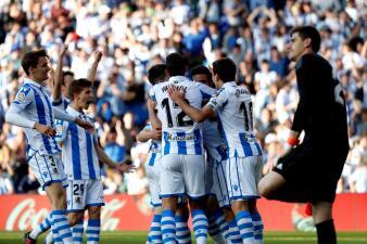 En fotos: Héctor Moreno fue titular con Real Sociedad en el triunfo contra Real Madrid